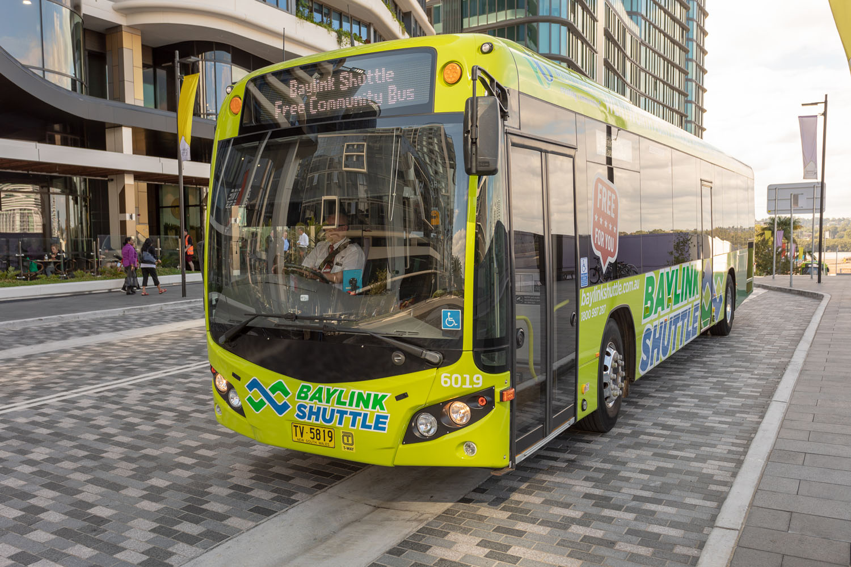 Billbergia Baylink Shuttle Free Community Bus