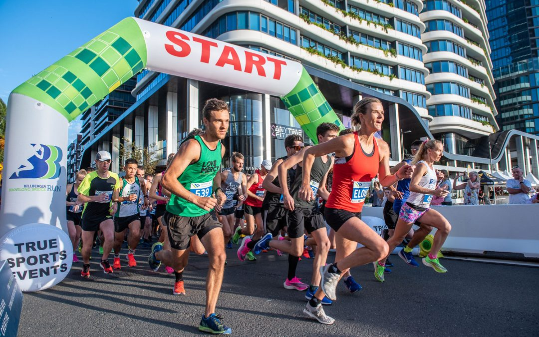 Sydney running community flock to the fourth annual Billbergia Bennelong Bridge Run