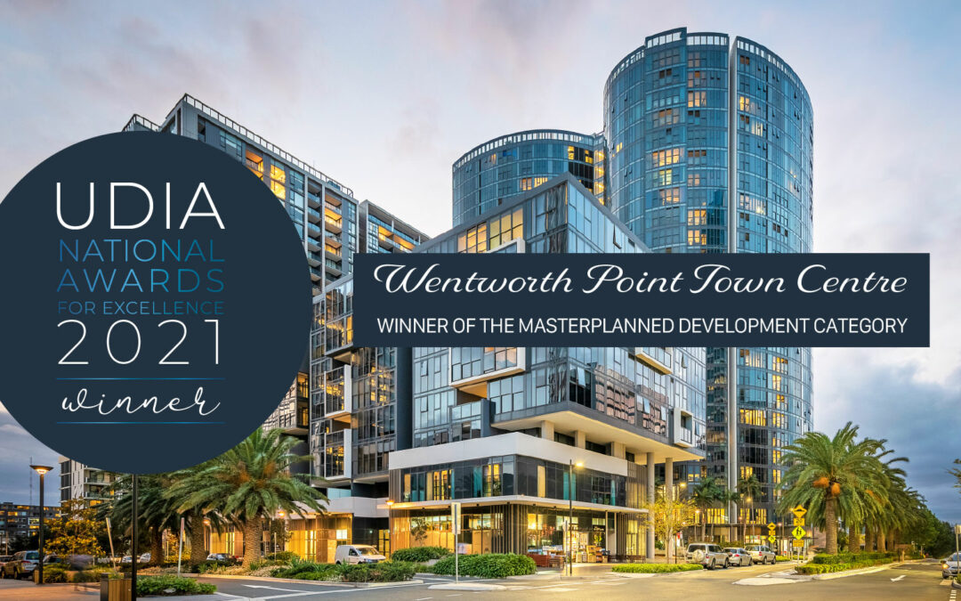 Wentworth Point Town Centre by Billbergia Wins 2021 National Masterplan Award